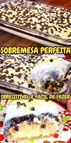PREPARE ESSA RECEITA E NUNCA MAIS VAI QUERER FAZER OUTRA #sobremesa #chocolate #confeito #doce #cozinha #receita #receitafacil #receitas #comida #food #manualdacozinha #aguanaboca #alexgranig