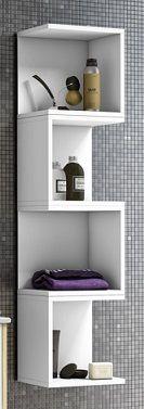 Tuhome combo botiqu n 47 lavamanos 47 estante 26 for Armarios de cuarto de bano para colgar