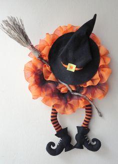 Ideas para elaborara originales y hermosas coronas para #halloween