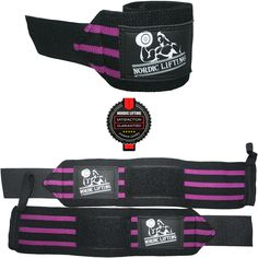 1P Purple Wrist Wraps