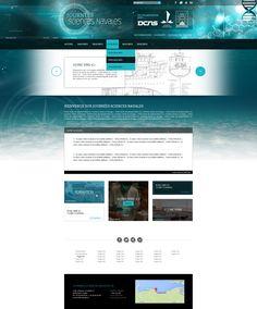Refonte du site journee-sciences-navales.fr - createur de site de presentation