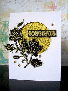 Altenew Persian Motifs Congrats