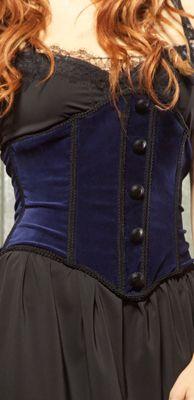 LIP SERVICE Velvet Pentacle waist cincher #82-206