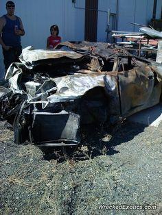 Porsche 911 996 crashed in Spokane, Washington