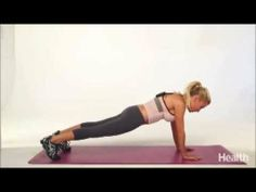 ▶ Tracy Anderson 8 Moves for Health Magazine - YouTube