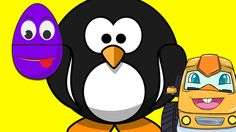 Animated Surprise Easter Eggs for Learning about Animals - Penguins Animated Surprise Easter Eggs is a fun and educational video for kids, toddlers, babies, . Monster Truck Videos, Monster Trucks, Toddler Learning, Teaching Kids, Surprise Egg Videos, Truck Videos For Kids, Learning A Second Language, Egg Basket, Coloring Easter Eggs