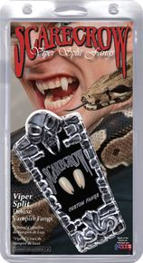 Viper Split Deluxe Custom Scarecrow Fangs