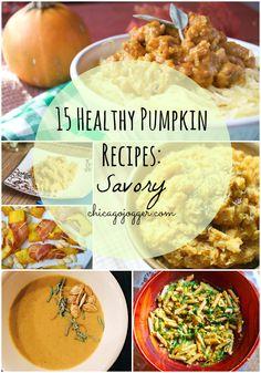 Chicago Jogger: 15 Healthy Pumpkin Recipes: Savory