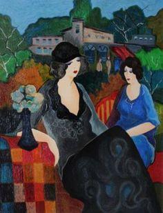 Itzchak Tarkay Art for Sale