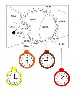 Oral Motor Activities, Clock, Decor, Math Resources, Calendar, Watch, Decorating, Clocks, Inredning
