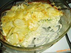 Brokolici rozdělíme na růžičky a lehce povaříme v osolené vodě. Mezitím oloupané brambory nakrájíme ... Cauliflower, Macaroni And Cheese, Vegetables, Ethnic Recipes, Food, Mac And Cheese, Cauliflowers, Veggie Food, Vegetable Recipes