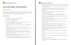 Inside Sales Manager Job Description  A Template To Quickly