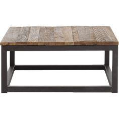 Zuo Modern Civic Distressed Square Coffee Table | Pure Home
