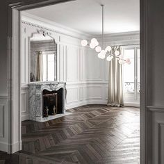 Haussmann Parisian Interior Model available on Turbo Squid, the world's leading provider of digital models for visualization, films, television, and games. House Design, Interior, Home N Decor, Home, House Styles, House Inspiration, House Interior, Interior Design, Parisian Interior