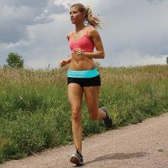 FlipBelt Workout & Running Belt with Four Pockets