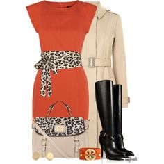 fall fashion 2013 leopard print with orange Classy Outfits, Chic Outfits, Fall Outfits, Fashion Outfits, Womens Fashion, Fashion Trends, Fashionista Trends, Skirt Outfits, Work Fashion