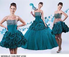 vestidos q se despegan para 15 anos 2014 | Fotos de Vestidos de XV años para mayoreo Gustavo A. Madero