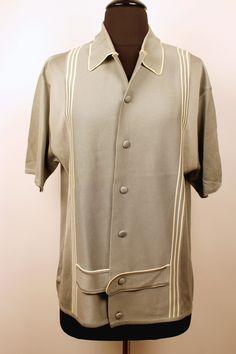 Vintage 1960's Men's Navarro Knit Shirt