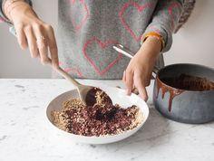 Quinoa and Cacao Crispy Treats