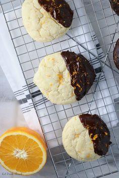 Dark Chocolate Orange Sugar Cookies