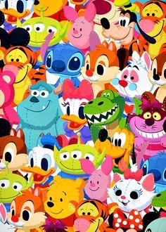 sweetmickeymerch: tinkeperi: Disney Friends:)