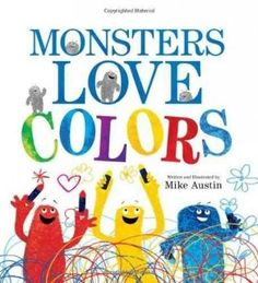 Did you know that monsters love to scribble, scribble, mix, dance, and wiggle! Why? Because monsters love to make new colors! Celebrate along with the hilarious monsters in this wild and energetic pic