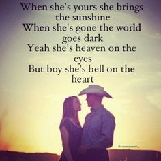 """""""Hell on the Heart"""" Eric Church man this time apart is going to kill me :( this will be the longest we have been apart ever :("""