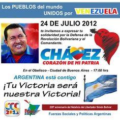 Blogger Loboalpha: Argentina se suma a la jornada global de Solidaridad con la Revolución Bolivariana