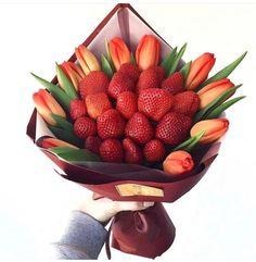 Flower Box Gift, Flower Boxes, Flowers, Edible Arrangements, Flower Arrangements, Food Bouquet, Rama Seca, Edible Bouquets, Summer Garden