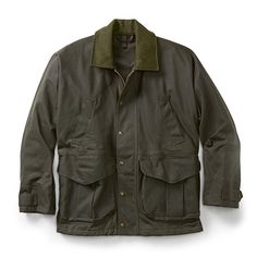 The Tin Cloth Field Jacket in Otter Green