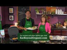"""Wild-caught Salmon Burgers""  Living Beyond Organic TV Show #5 Cooking Segment"