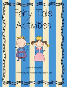 Fiary Tale Activities - Jennifer Franjione - TeachersPayTeachers.com