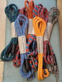 Mountain Rope Dog Leashes