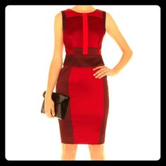 Karen Millen Mamma Mia Dress in Red #Dropdeadgorgeous and #eyecatching, this #tailoredandtapered #satin #paneldress by #karenmillen will #turnheads! #Peplum #accent at waist and lower back, #colorblock paneling, #fullylined with #sidezipper. #NWOT Thanks for looking! Check out my other listings. All items come from a pet and smoke free home. Message before buying and I'll make a bundle listing for you. I offer bundle discounts 10% for 3, 15% for 4+. #bundleandsave   #springfashion…