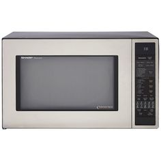 Sharp R-930CS 1-1/2-Cubic Feet 900-Watt Convection Microwave, Stainless >>> Check out this great product.