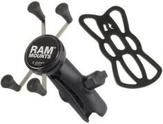 RAM X-Grip Universal Cell Phone Cradle with Double Socket Arm