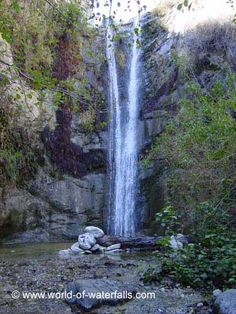 Trail Canyon Falls, Angeles National Forest / Tujunga / Sunland / Los Angeles County, California, USA