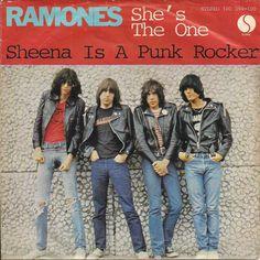 "Ramones - She's the one [1978, Sire 101 394│Germany] - 7""/45 vinyl record"