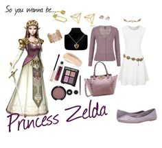 """""""Princess Zelda Casual Cosplay (closplay)"""" by lenoremarcus on Polyvore featuring moda, Rebecca Minkoff, maurices, Massimo Matteo, Allurez, Sonia Kashuk, Rimmel, By Terry, Ellis Faas y Chanel"""