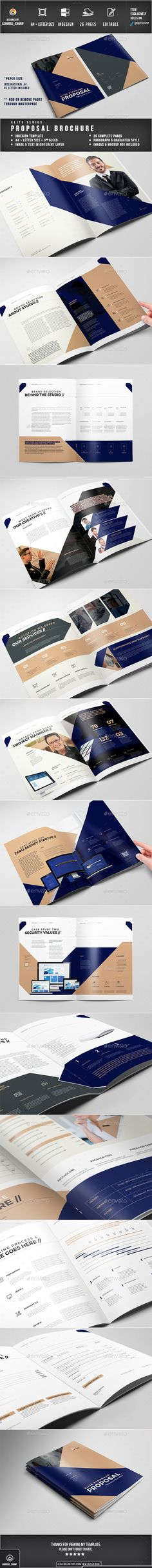 The Network Landscape Brochure Brochure template, Brochures and - business company profile template