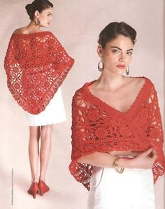 Beautiful Shawl & Cape Patterns with diagrams