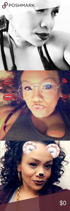 Nerdy 🤓 Pretti 💋 Bossi 👑 Hello Poshers I am delighted to join you! 👏🏼👏🏼 I am Poshing with a cause ❤️  (more info to come) and my team is on a mission 👑.  I am a sweet spirited fire cracker 💥 that values intellect 💡 and inner beauty 👁. I am married to my super sexy hubby Kamau that helps me posh and gets your stuff delivered to you with swift intentions lol. I am a successful yet driven entrepreneur with special talents in marketing and graphic designs. 👑 Make offers or trade…