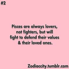 ...lovers not fighters...