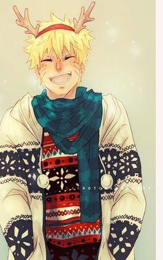 Imagen de naruto, christmas, and naruto shippuden