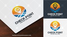 Check Point Logo Template