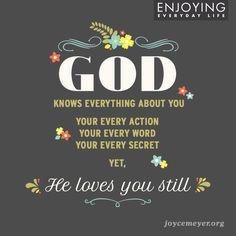 God's love is everlasting!
