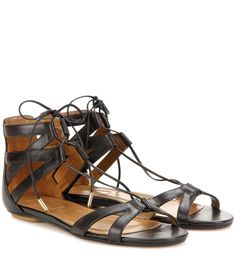 Aquazzura - Beverly Hills leather sandals