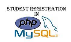 Student Registartion System in PHP/MySQL in Urdu