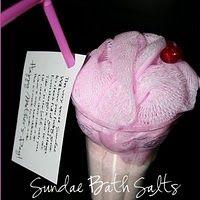 Sundae bath salt gift