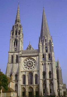 Chartres Cathedral, aka Cathedral of Our Lady of Chartres is a medieval Roman Rite Catholic cathedral located in Chartres, France. A UNESCO World Heritage Site.